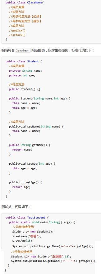 Java基础学习3:【类与对象、封装、构造方法】
