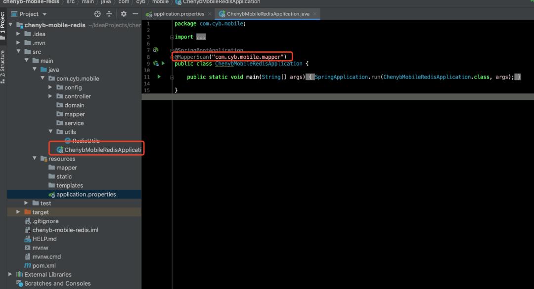 Spring Boot实战:整合Redis、MyBatis,封装RedisUtils工具类